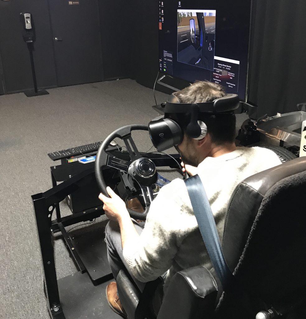 A pesar de que la simulación no entrenará a los conductores al 100%, los prepara para afrontar situaciones peligrosas.