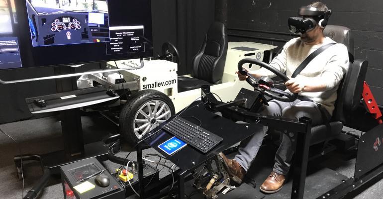 El entrenamento en VR para nuevos camioneros ahorraría mucho tiempo y dinero a empresas que necesitan nuevos conductores