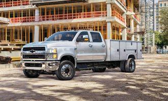 Camión de trabajo mediano de GM con mutores duramax y transmision allison