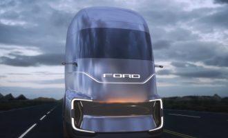 Concepto de camión eléctrico de Ford