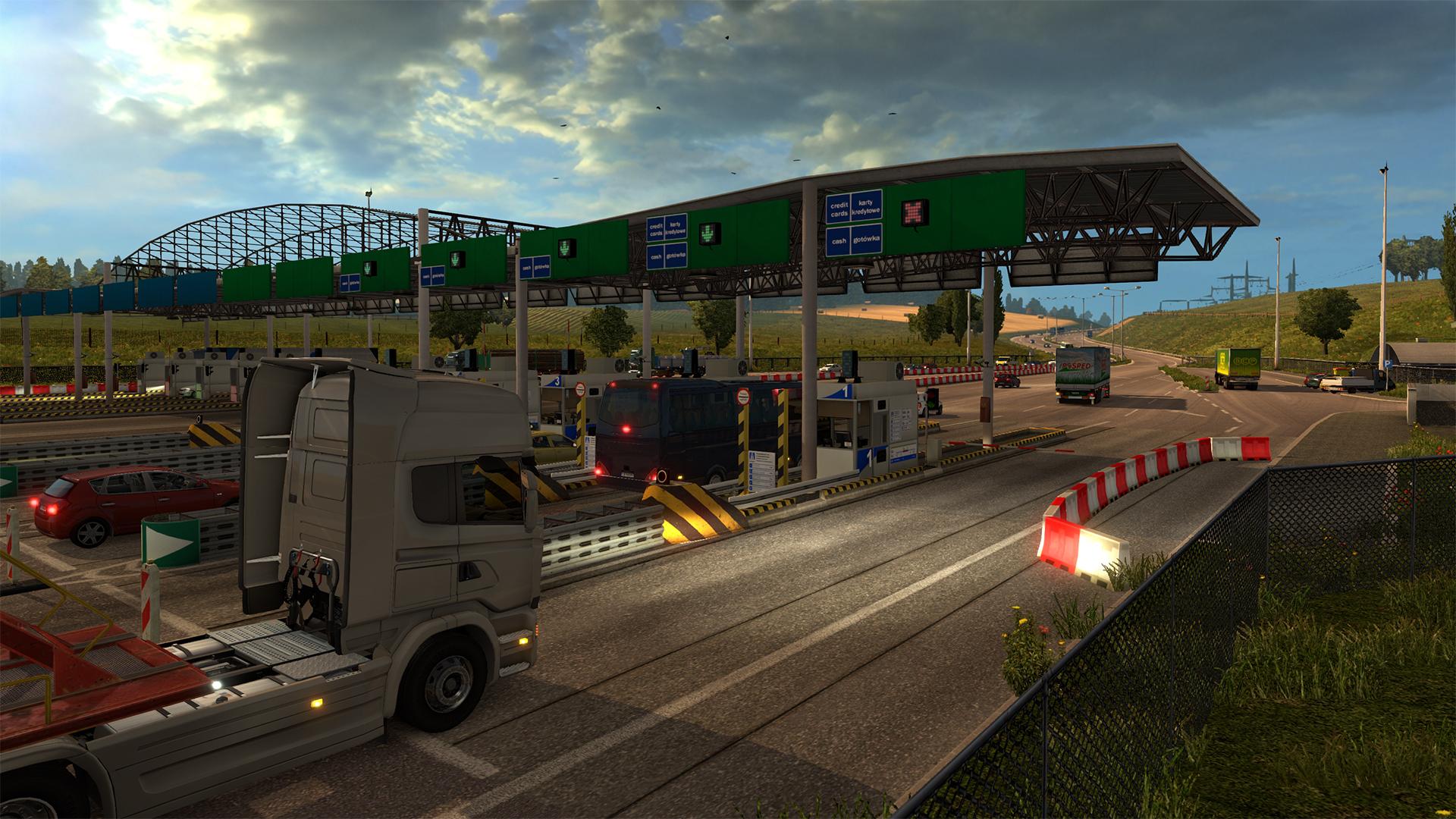 Escena capturada del juego Euro Truck Simulator