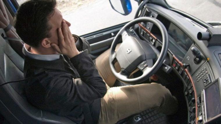 Apnea del sueño en camioneros
