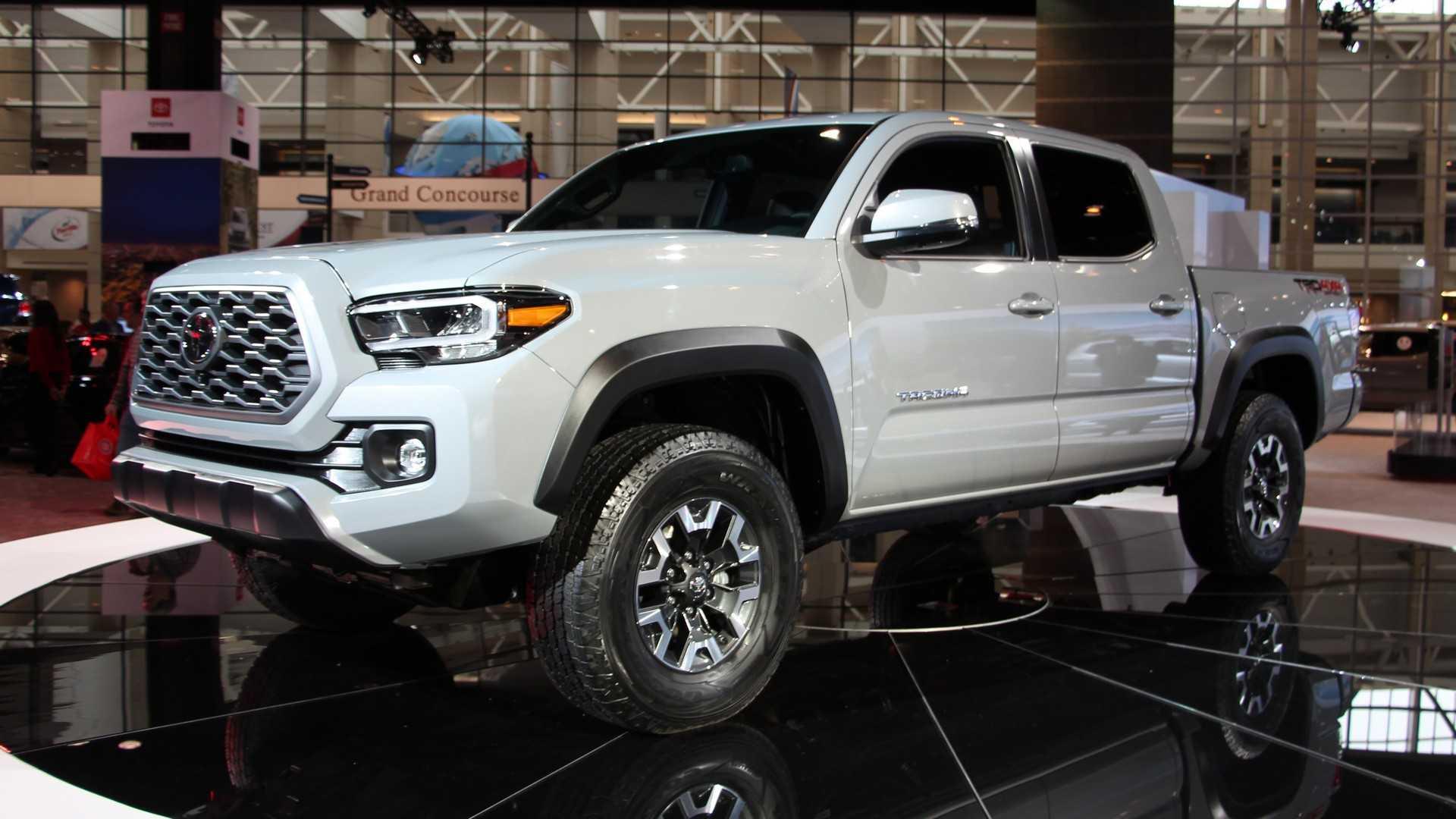 Toyota Tacoma 2020 en exhibición