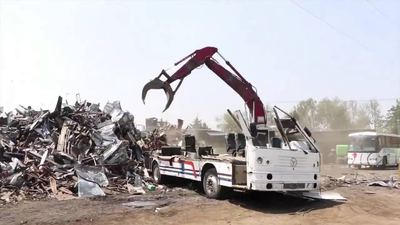 Chatarrización de camiones