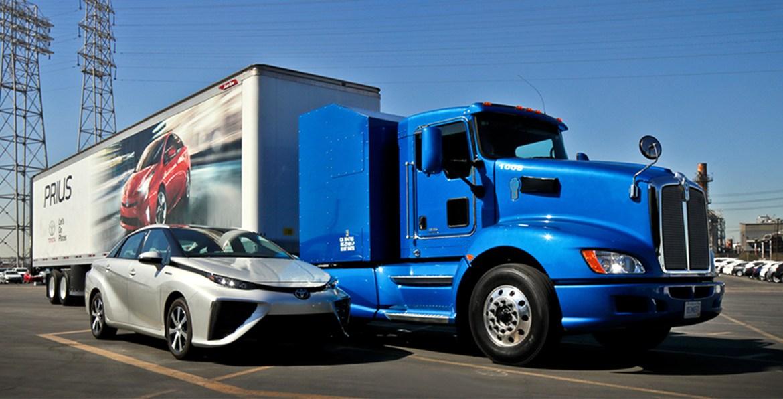 Toyota Kenworth camión eléctrico