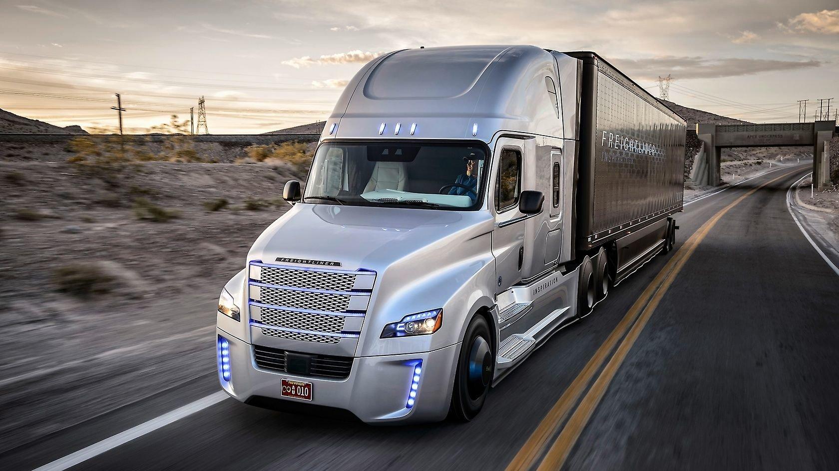 Camión autónomo de Daimler Trucks