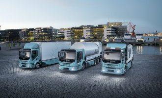 Camiones eléctricos del Volvo