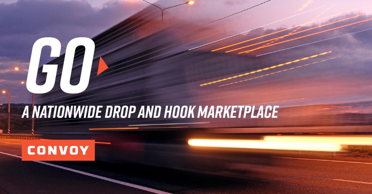 """Red y Convoy está lanzando un mercado de """"Drop-and-hook"""" que permite a cualquier operador o propietario comenzar a transportar remolques precargados."""