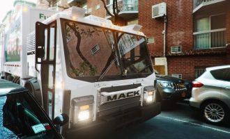 Mack Trucks camión de basura eléctrico
