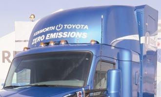 Toyota y Kenworth se unen para crear camiones de celda de hidrógeno