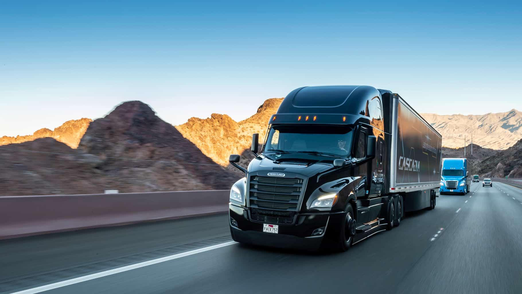Camión autónomo de Daimler y Torc