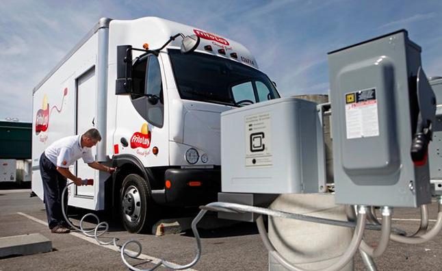Camión eléctrico de Frito Lay