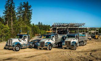 Camiones Kenworth de PGH Excavating
